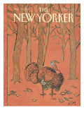 The New Yorker Cover - November 28, 1988 Premium Giclee Print by William Steig