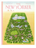 The New Yorker Cover - June 25, 1990 Regular Giclee Print by Bob Knox