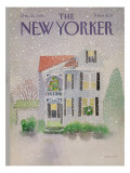 The New Yorker Cover - December 23, 1985 Regular Giclee Print by Susan Davis