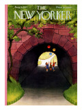 The New Yorker Cover - August 9, 1947 Premium Giclee Print by Edna Eicke