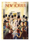 The New Yorker Cover - October 24, 1936 Regular Giclee Print by Constantin Alajalov