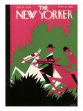 The New Yorker Cover - July 25, 1925 Regular Giclee Print by H.O. Hofman