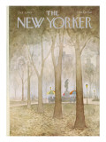 The New Yorker Cover - October 3, 1977 Regular Giclee Print by Charles E. Martin