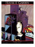 House & Garden Cover - February 1928 Regular Giclee Print by Marion Wildman