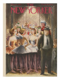 The New Yorker Cover - December 11, 1943 Premium Giclee Print by Constantin Alajalov