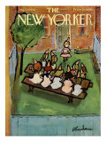 The New Yorker Cover - August 23, 1958 Premium Giclee Print by Abe Birnbaum