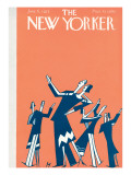 The New Yorker Cover - June 6, 1925 Premium Giclee Print by Julian de Miskey