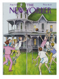 The New Yorker Cover - August 17, 1981 Regular Giclee Print by Charles Saxon