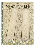 The New Yorker Cover - March 8, 1958 Premium Giclee Print by Garrett Price