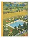 The New Yorker Cover - August 10, 1946 Regular Giclee Print by Ilonka Karasz