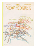 The New Yorker Cover - March 13, 1971 Regular Giclee Print by Charles E. Martin