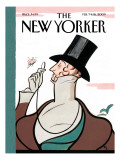 The New Yorker Cover - February 9, 2009 Premium Giclee Print by Rea Irvin