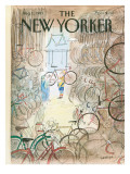 The New Yorker Cover - August 1, 1983 Premium Giclee Print by Jean-Jacques Sempé