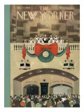 The New Yorker Cover - December 11, 1954 Premium Giclee Print by Charles E. Martin