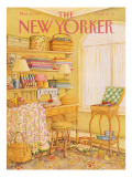 The New Yorker Cover - March 2, 1987 Premium Giclee Print by Jenni Oliver