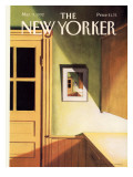 The New Yorker Cover - March 9, 1992 Regular Giclee Print by Gretchen Dow Simpson