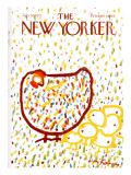 The New Yorker Cover - July 10, 1971 Premium Giclee Print by Andre Francois