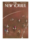 The New Yorker Cover - August 17, 1957 Premium Giclee Print by Garrett Price