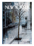 The New Yorker Cover - March 12, 1966 Premium Giclee Print by Arthur Getz