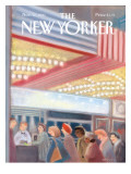 The New Yorker Cover - November 11, 1991 Regular Giclee Print by Susan Davis