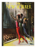 The New Yorker Cover - January 20, 1962 Premium Giclee Print by Arthur Getz