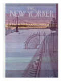 The New Yorker Cover - March 31, 1980 Regular Giclee Print by Charles E. Martin