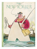 The New Yorker Cover - April 6, 1940 Premium Giclee Print by Rea Irvin