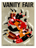 Vanity Fair Cover - November 1930 Regular Giclee Print by Constantin Alajalov