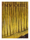 The New Yorker Cover - November 6, 1954 Regular Giclee Print by Abe Birnbaum