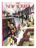 The New Yorker Cover - December 19, 1953 Premium Giclee Print by Arthur Getz