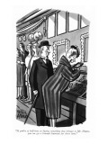 """If you're so hell-bent on buying something that belongs to Mr. Hearst, yo…"" - New Yorker Cartoon Premium Giclee Print by Peter Arno"