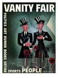 Vanity Fair Cover - April 1932 Premium Giclee Print by Miguel Covarrubias