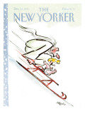 The New Yorker Cover - December 30, 1991 Regular Giclee Print by Lee Lorenz