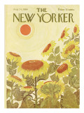 The New Yorker Cover - August 24, 1968 Premium Giclee Print by Ilonka Karasz