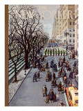 The New Yorker Cover - March 14, 1953 Premium Giclee Print by Arthur Getz