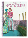 The New Yorker Cover - June 16, 1975 Premium Giclee Print by Charles Saxon
