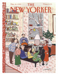 The New Yorker Cover - December 10, 1990 Premium Giclee Print by Devera Ehrenberg