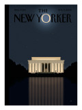 The New Yorker Cover - November 17, 2008 Regular Giclee Print by Bob Staake