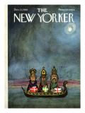 The New Yorker Cover - December 21, 1968 Premium Giclee Print by Charles E. Martin