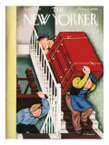 The New Yorker Cover - September 28, 1935 Premium Giclee Print by Antonio Petruccelli
