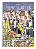 The New Yorker Cover - January 30, 1965 Premium Giclee Print by Peter Arno