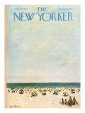 The New Yorker Cover - July 29, 1961 Premium Giclee Print by Abe Birnbaum