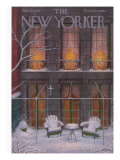 The New Yorker Cover - January 21, 1956 Premium Giclee Print by Edna Eicke