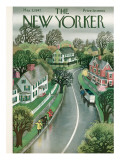 The New Yorker Cover - May 3, 1947 Premium Giclee Print by Edna Eicke