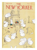 The New Yorker Cover - March 27, 1978 Regular Giclee Print by Arnie Levin
