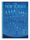 The New Yorker Cover - September 30, 1972 Regular Giclee Print by Charles E. Martin