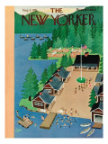 The New Yorker Cover - August 4, 1951 Premium Giclee Print by Charles E. Martin