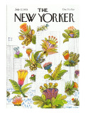 The New Yorker Cover - July 17, 1978 Regular Giclee Print by Joseph Low