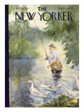The New Yorker Cover - July 25, 1942 Premium Giclee Print by Perry Barlow