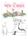 The New Yorker Cover - March 19, 1990 Premium Giclee Print by Ronald Searle